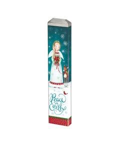 "Christmas Angel 13"" Mini Art Pole"