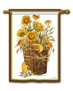 CLR Summer Sunflowers Standard Flag