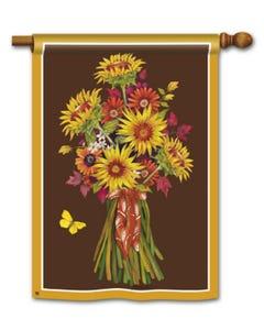 CLR Sunflower Bouquet Standard Flag