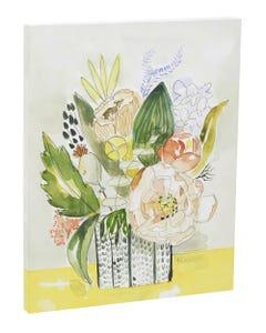 Floral Bouquet Canvas Wall Art