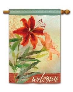 CLR Tiger Lily DS Standard Flag