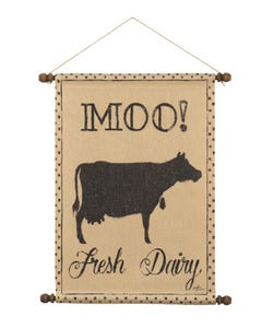 Moo Wall Hanging