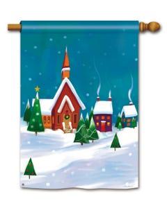 CLR Winter Village Standard Flag