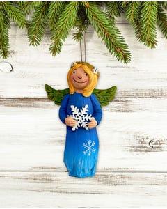 Winter Beauty Angel Ornament