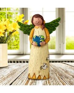 "Peace on Earth 8"" Angel Figurine"