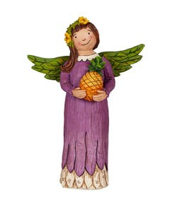 "Always Welcome 8"" Angel Figurine"